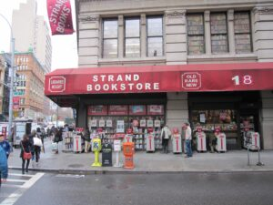 The Strand Book Store New York