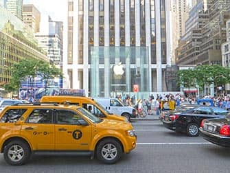 Apple Store on Fifth Avenue in New York