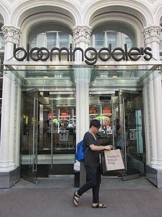 Bloomingdales in New York - Brown Bag
