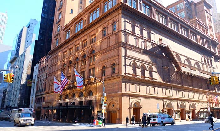 Carnegie Hall in New York Concert Hall
