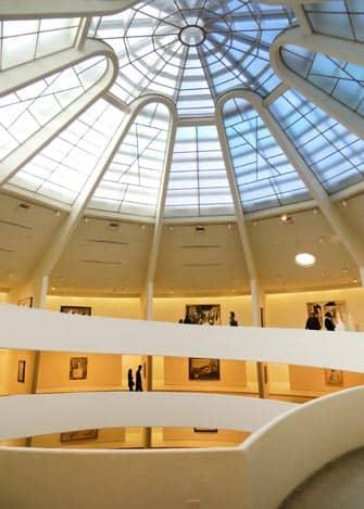 Guggenheim Museum in NYC - Interior