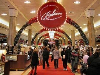 Macys in NYC - Christmas Decoration