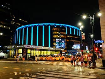Madison Square Garden in New York - Exterior