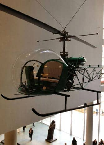 MoMA in New York - Helicopter