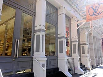 Shopping in SoHo - Louis Vuitton