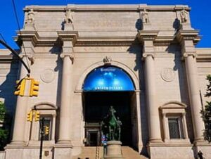 The American Museum of Natural History in New York