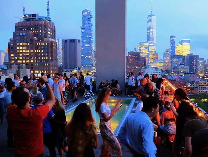 The Best Rooftop Bars of New York - Jimmy
