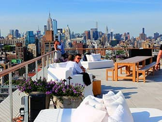 The Best Rooftop Bars of New York - The Roof at PUBLIC