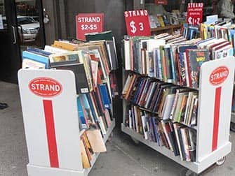The Strand Bookstore in NYC - Book Sale