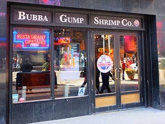 Theme Restaurant in New York - Bubba Gump