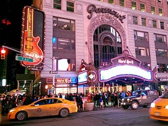 Theme Restaurant in New York - Hard Rock Cafe
