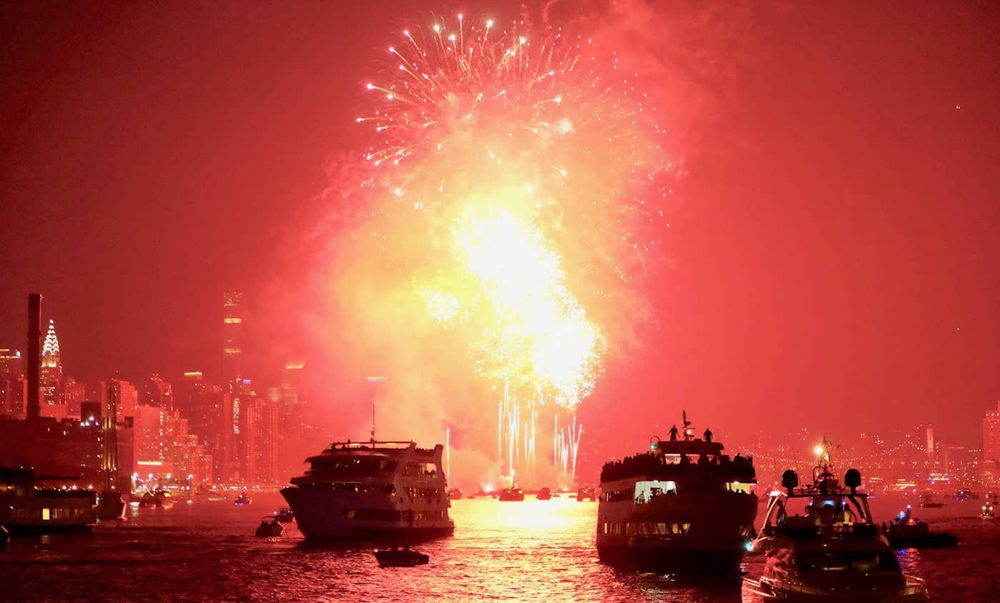 4th of July Cruises in New York - Fireworks