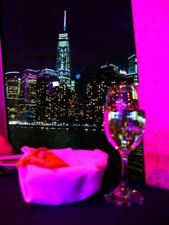 Hudson River Dinner Cruise in New York - One World Trade