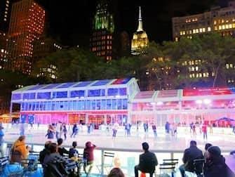Skating in New York - Bryant park2