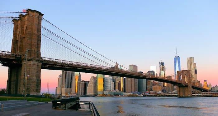 Brooklyn bridge in new york brooklyn bridge in new york from brooklyn bridge park malvernweather Gallery