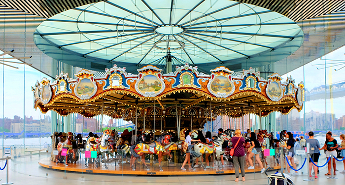 Jane's Carousel in Brooklyn - The Carousel