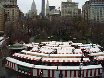 Marches a NYC - Christmas Market Union Square