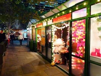 New York Markets - Bryant Park Christmas Market