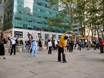 Tai Chi in NYC - Bryant Park