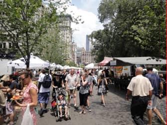 Markets in NYC - Union Square Market