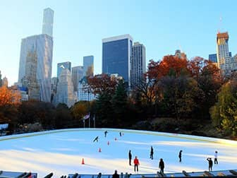 Central Park Skating on the Wollman Rink