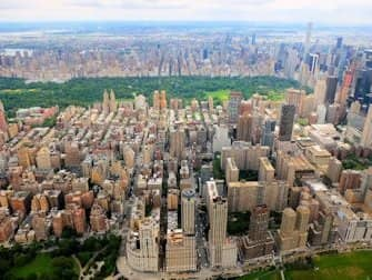 New York Helicopter Tour Routes - Central Park
