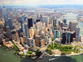 New York Helicopter Tour Routes - Manhattan Skyline