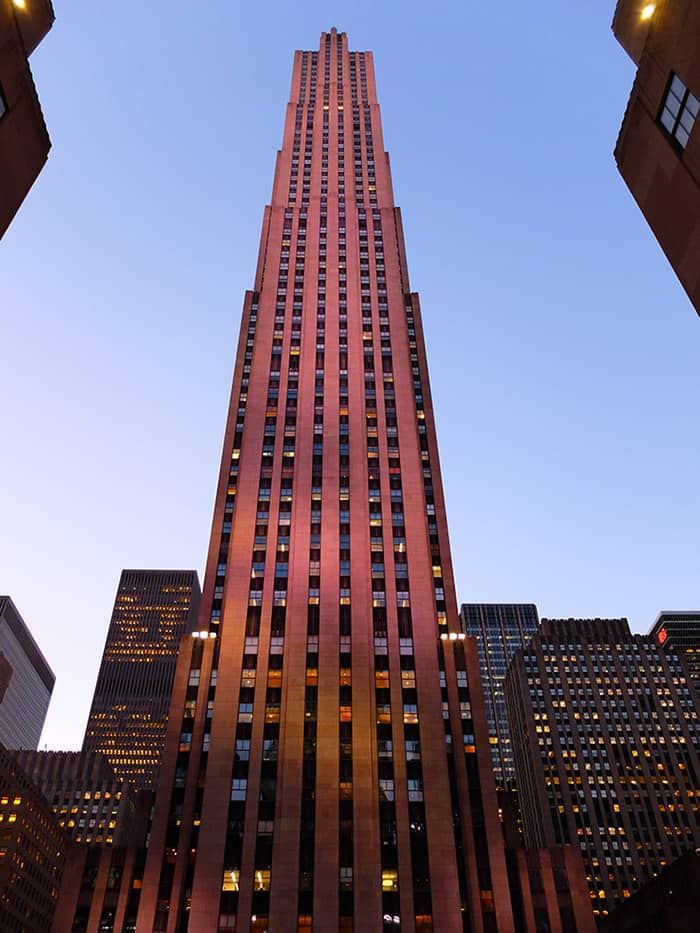 Outlet New Jersey >> Rockefeller Center in New York