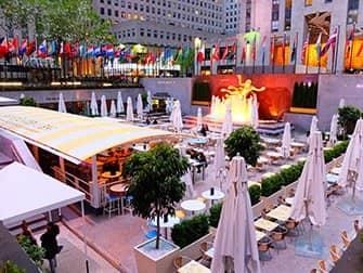 Rockefeller Center in New York - Terrace
