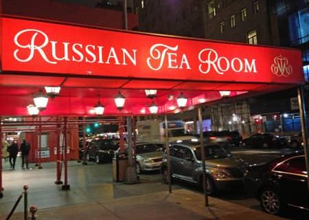Russian Tea Room In New York Newyorkcity Ca