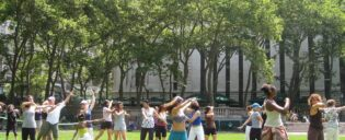 Free dance classes in Bryant Park