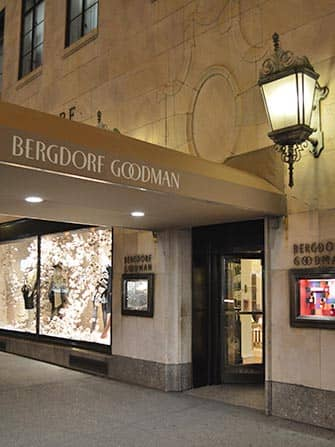 Fifth Ave Shopping in New York - Bergdorf Goodman