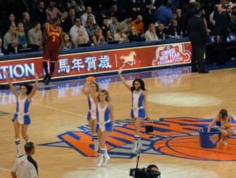 New York Knicks Tickets - Cheerleaders