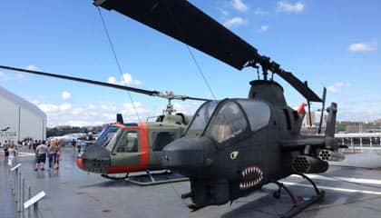 Intrepid Museum in NYC - Helicopter