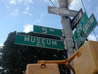 Upper East Side Shopping in NYC - Museum Mile