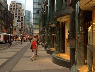 Upper East Side Shopping in NYC - Window Shopping