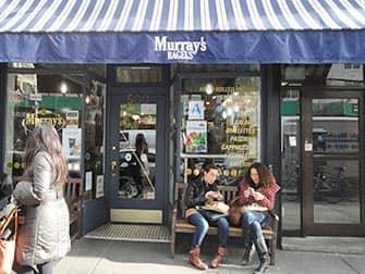 Bagels in NYC - Murrays Bagels in