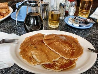 Breakfast in NYC - Pancakes