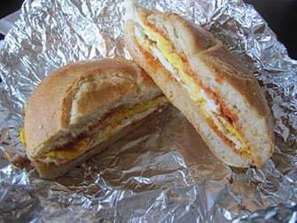 Lunch in New York - Sandwich