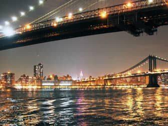 view from brooklyn bridge park new york