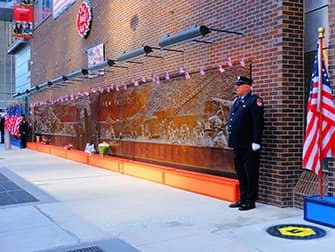 911 in New York - Memorial Wall