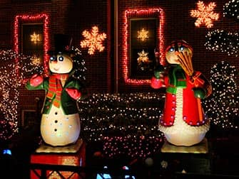 Christmas Season in NYC Dyker Heights decorations
