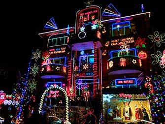 Christmas Season in NYC Dyker Heights