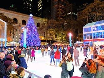 Christmas Season in New York - Bryant Park