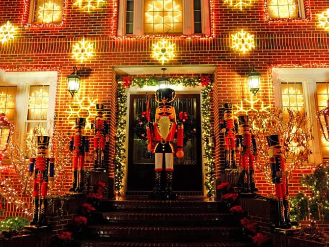 New York Weihnachten.Christmas Season In New York Newyorkcity Ca