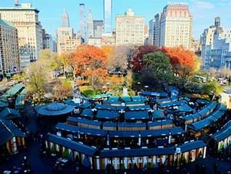 Christmas Season in New York - Union Square Market