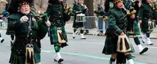 St Patrick's Day in New York