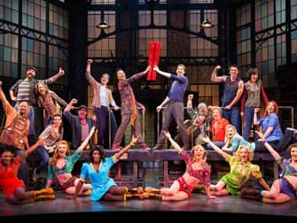 Kinky Boots on Broadway - cast