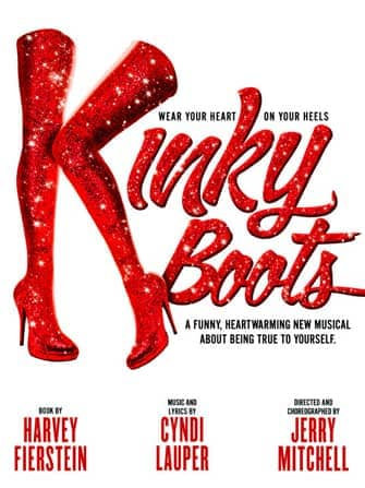 Kinky Boots on Broadway - poster