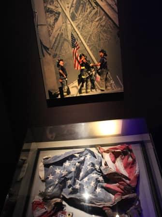 9/11 Museum in New York - American Flag 9/11 Museum